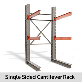Cantilever Racks in a Row
