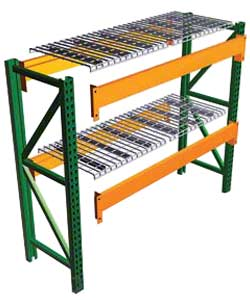 Pallet Racking with Wire Decks in Minnesota