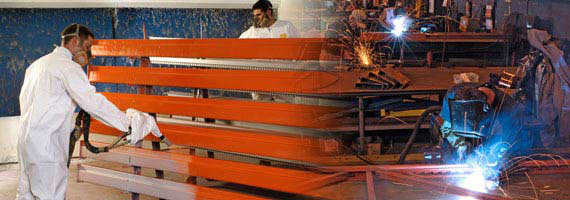 Pallet Rack Repairs/Warehouse Storage Rack Fabrication